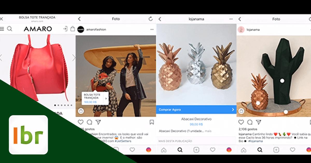 Botão Comprar Agora Instagram