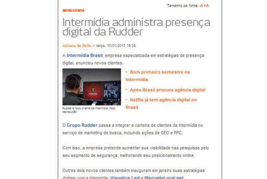Agencia Digital Ibr na Mídia - Portal Baguete