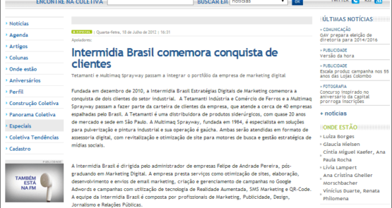 Agencia Digital Ibr na Mídia - Coletiva 05