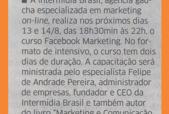 Agencia Digital Ibr na Mídia - Correio do Povo 01