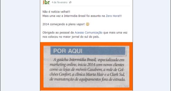 Agencia Digital Ibr na Mídia - Jornal Zero Hora 02