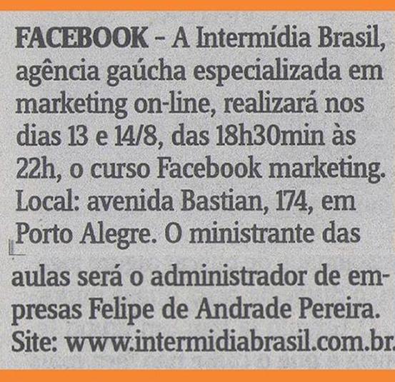 Agência Na Mídia Jornal Correio do Povo