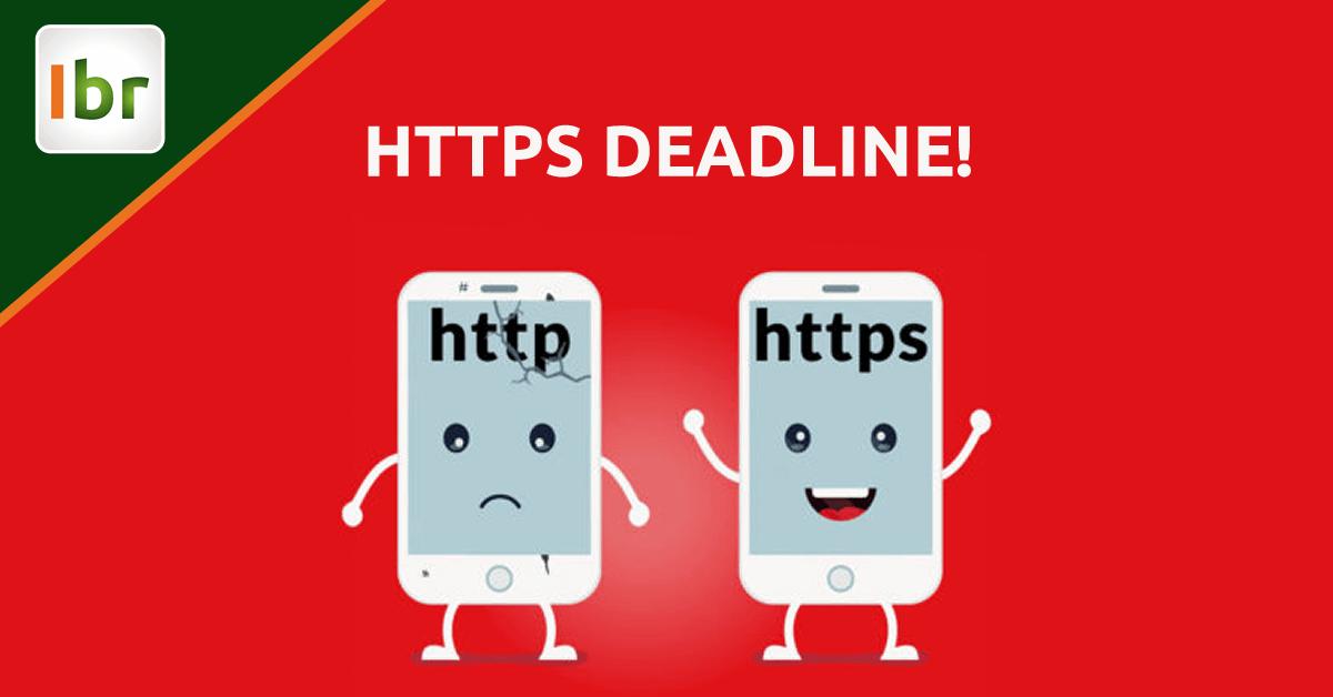 Providencie o HTTPS em seu site. Para ontem!