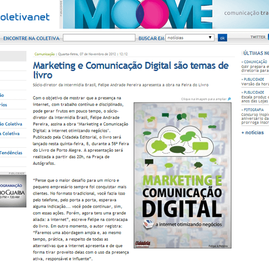 Livro Marketing Digital - Coletiva Net