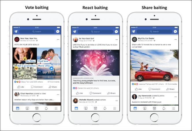 Facebook Rebaixa Vídeos Com Iscas De Engajamento