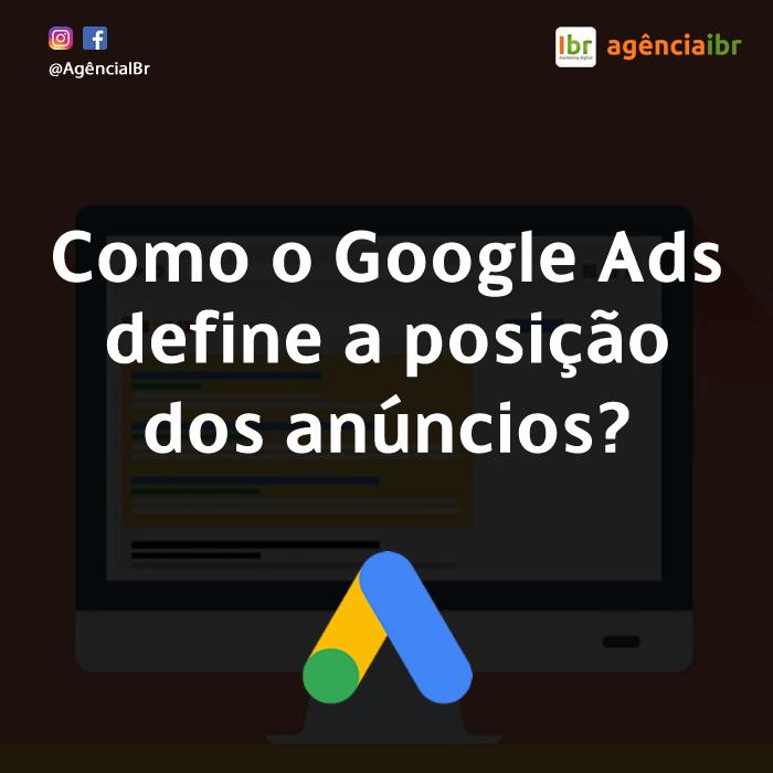 como o google ads posiciona os anuncios - adrank - indice de qualidade e lance - marketing digital porto alegre